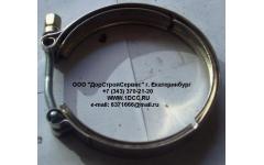 Хомут турбокомпрессора D=109 H фото Санкт-Петербург