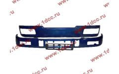 Бампер C синий верхний+нижний (в сборе) фото Санкт-Петербург